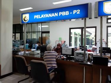 Pelayanan PBB-P2 Kota Yogyakarta di Loket PBB-P2