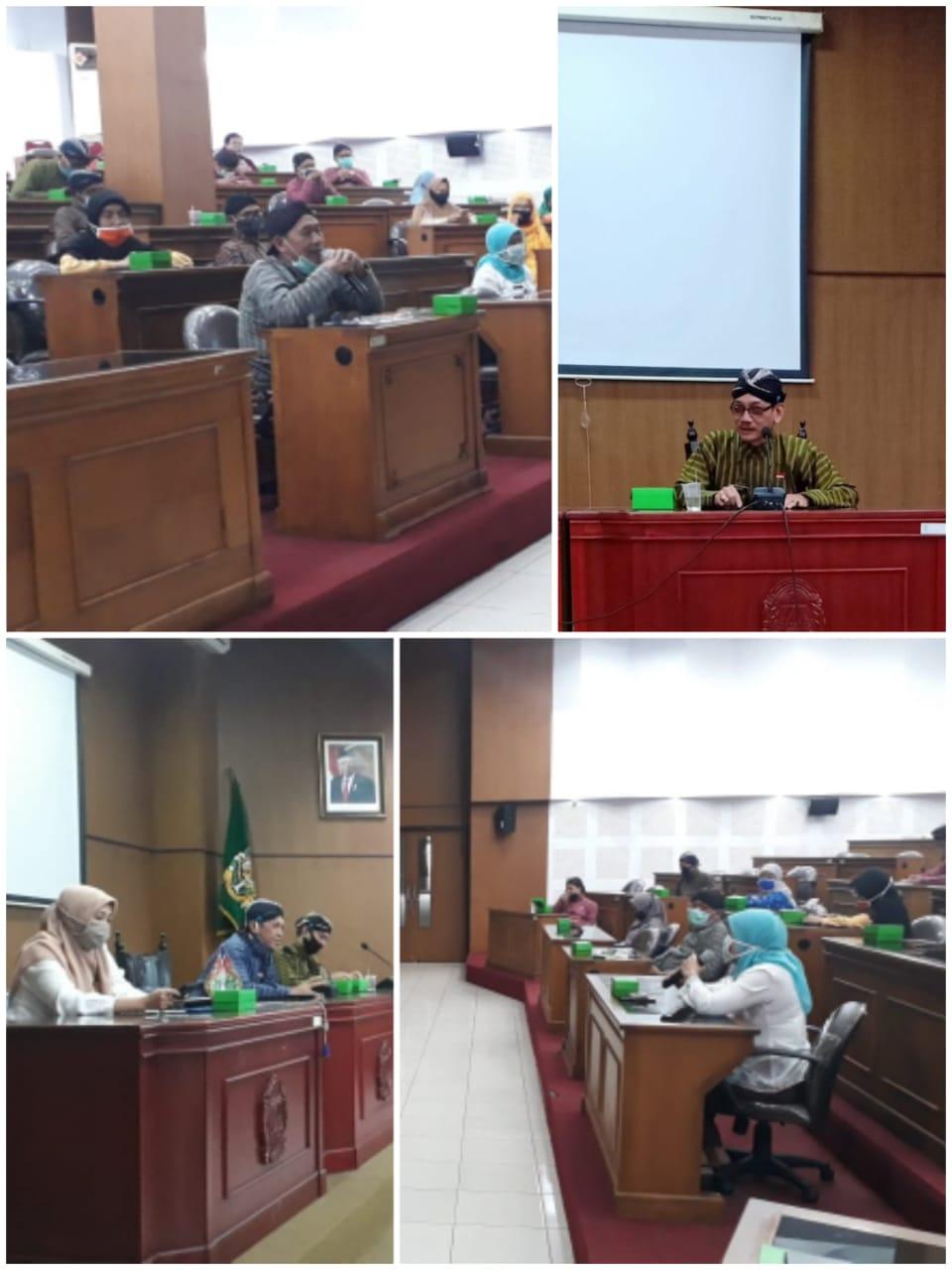 Pelepasan Purna Tugas Bpk. Andhy Sasongko Kabid Aset BPKAD Kota Yogyakarta